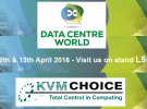 One week to go… Data Centre World 2016